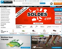 Codes promo et Offres Keller-sports