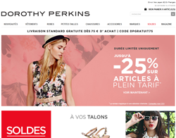 Codes promo et Offres Dorothy Perkins