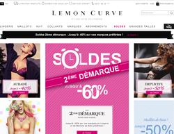 Codes promo et Offres LEMON CURVE