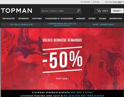 Codes promo et Offres Topman