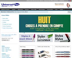 Codes promo et Offres Universal Pen