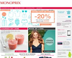 Codes promo et Offres Monoprix