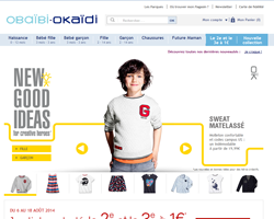 Codes promo et Offres Okaidi