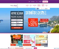 Codes promo et Offres Madame Vacances