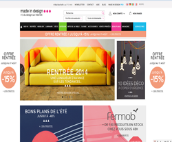 Codes promo et Offres Made in design