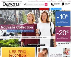 Codes promo et Offres Daxon