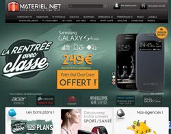 Codes promo et Offres Materiel.net