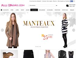 Codes promo et Offres Miss Coquines