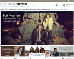 Codes promo et Offres Rue des Hommes
