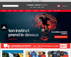 Codes promo et Offres Made in sport