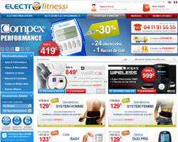 Codes promo et Offres ElectroFitness