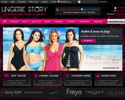 Codes promo et Offres Lingerie Story