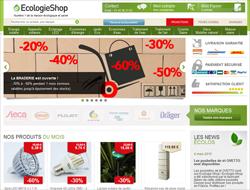 Codes promo et Offres Ecologie Shop