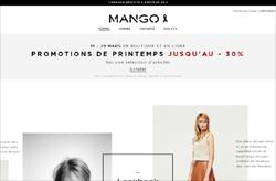 Codes promo et Offres Mango