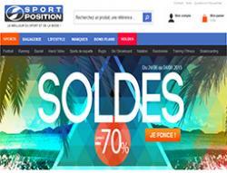 Codes promo et Offres sportposition