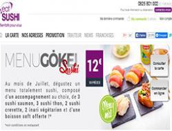 Codes promo et Offres Eat sushi
