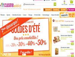 Codes promo et Offres Cuisine addict