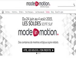 Codes promo et Offres Mode in motion