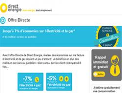 Codes promo et Offres Direct energie