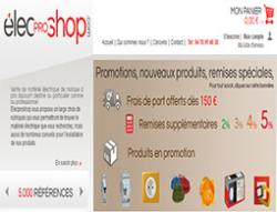 Codes promo et Offres Elecproshop