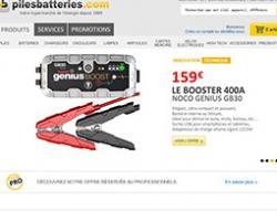 Codes promo et Offres Pilesbatteries
