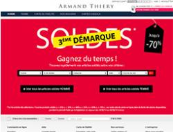 Codes promo et Offres Armand thiery