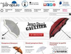 Codes promo et Offres Rue du parapluie