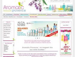 Codes promo et Offres Aromatic provence