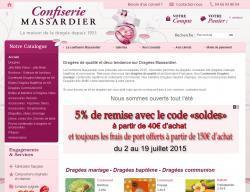 Codes promo et Offres Dragees massardier
