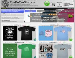 Codes promo et Offres Rue du tee shirt
