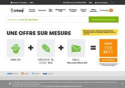 Codes promo et Offres GoDaddy