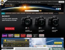 Codes promo et Offres Photo univers