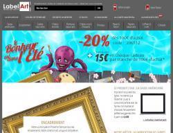 Codes promo et Offres Label art