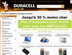 Codes promo et Offres Duracell Direct