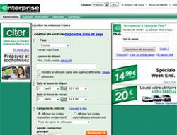Codes promo et Offres Enterprise Rent-A-Car