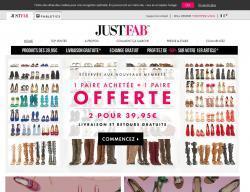 Codes promo et Offres JustFab