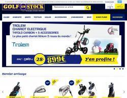 Codes promo et Offres Golf en stock