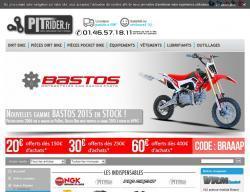 Codes promo et Offres Pit rider