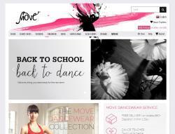 Codes promo et Offres Move dancewear