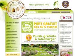 Codes promo et Offres Comptoir des graines