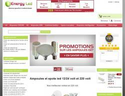 Codes promo et Offres Energy led