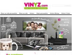 Codes promo et Offres Vinyz