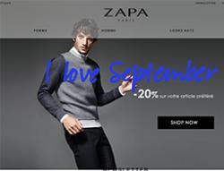 Codes promo et Offres Zapa