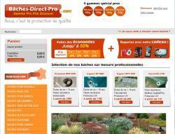 Codes promo et Offres Baches direct pro