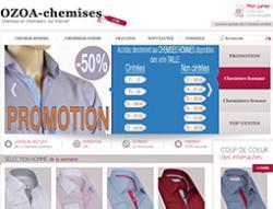 Codes promo et Offres Ozoa chemises