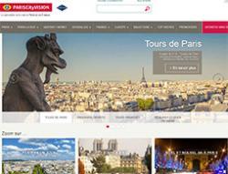Codes promo et Offres Pariscityvision