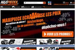 Codes promo et Offres Maxi pieces 50