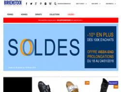 Codes promo et Offres birkenstock