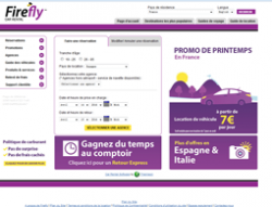 Codes promo et Offres Firefly Car Rental
