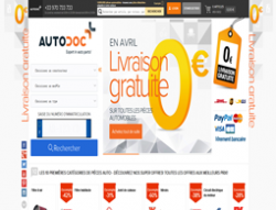 Codes promo et Offres AutoDoc